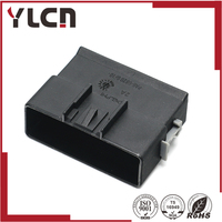 free shipping 16 Way Black unsealed plug male Connector for Delphi  13513961/15326956