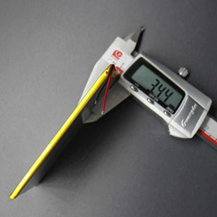 3,7 В литий-полимерный Батарея 357095 Tablet PC Универсальный Батарея 4000 мАч