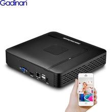Gadinan 16CH 5MP / 9CH 4K (8MP) NVR H.265 Mini IP Network Security Video Recorder Motion Detect ONVIF P2P CCTV NVR ONVIF XMEye