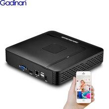 Сетевой видеорегистратор Gadinan 16CH 5MP NVR 8CH 4MP H.265 Max 5MP выход, мини IP сетевой видеорегистратор с датчиком движения ONVIF P2P CCTV NVR