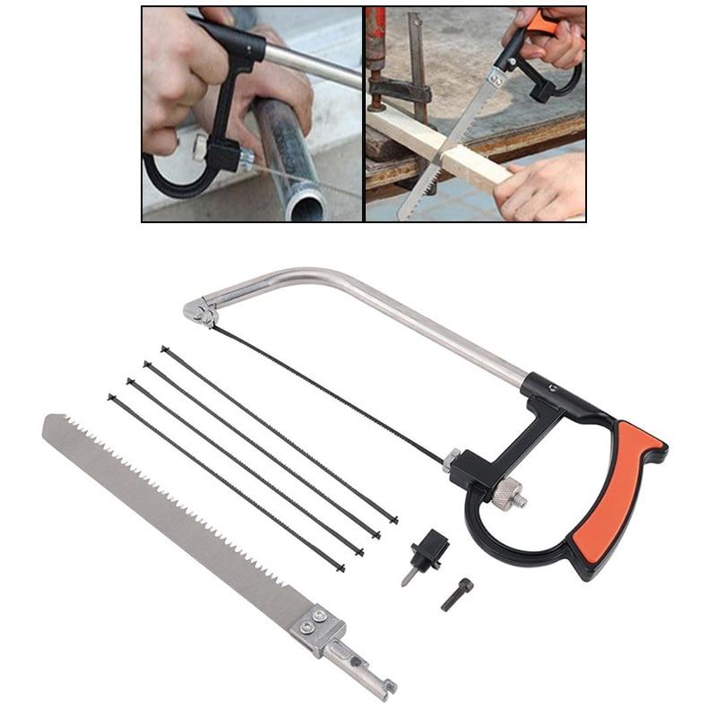 Aktiv Yeoda Mini Hacksaw Sah Bogen Klingen Metall Holz Draht Schmuck Handwerk Hand Tool Kit Handwerkzeuge