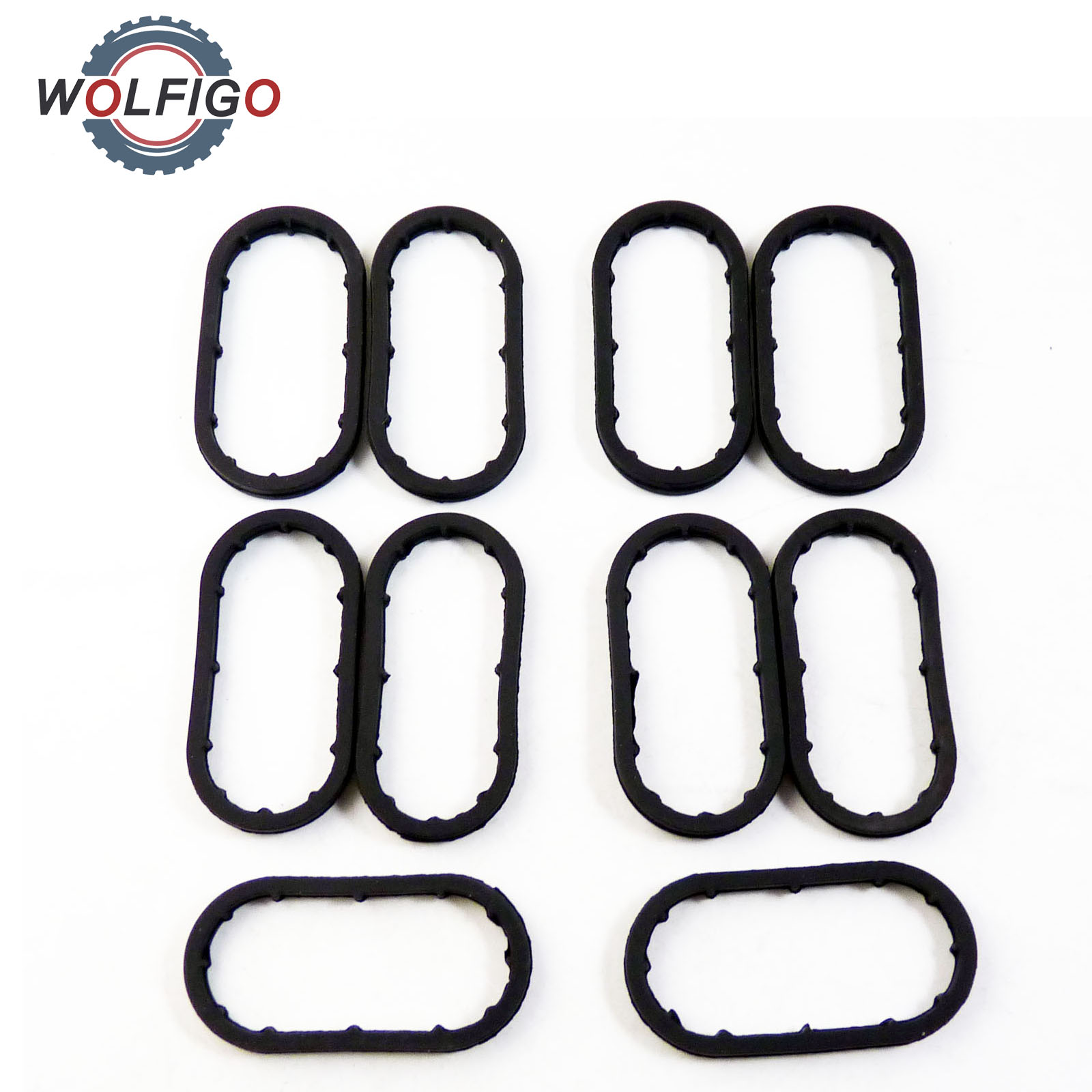 WOLFIGO New Oil Cooler Oil Filter Housing Seal Ring