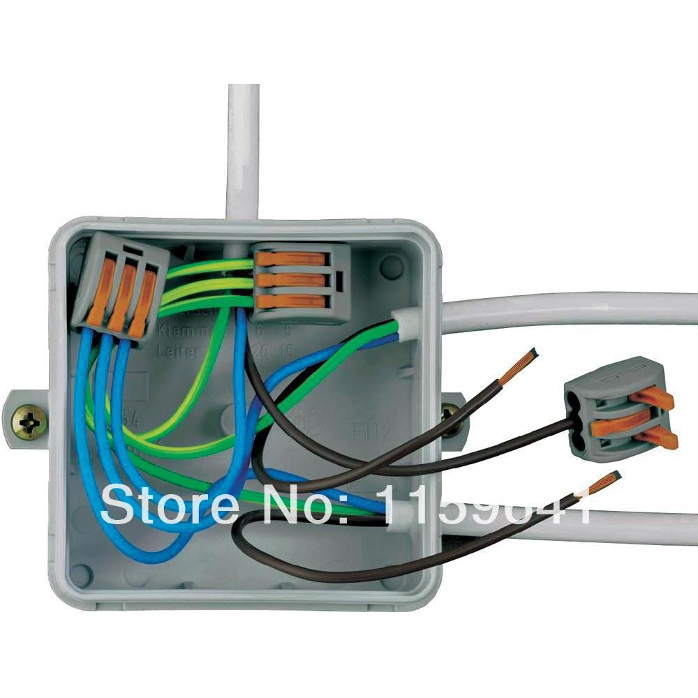 Wago 222 413 Connector Universal Compact Wire Wiring