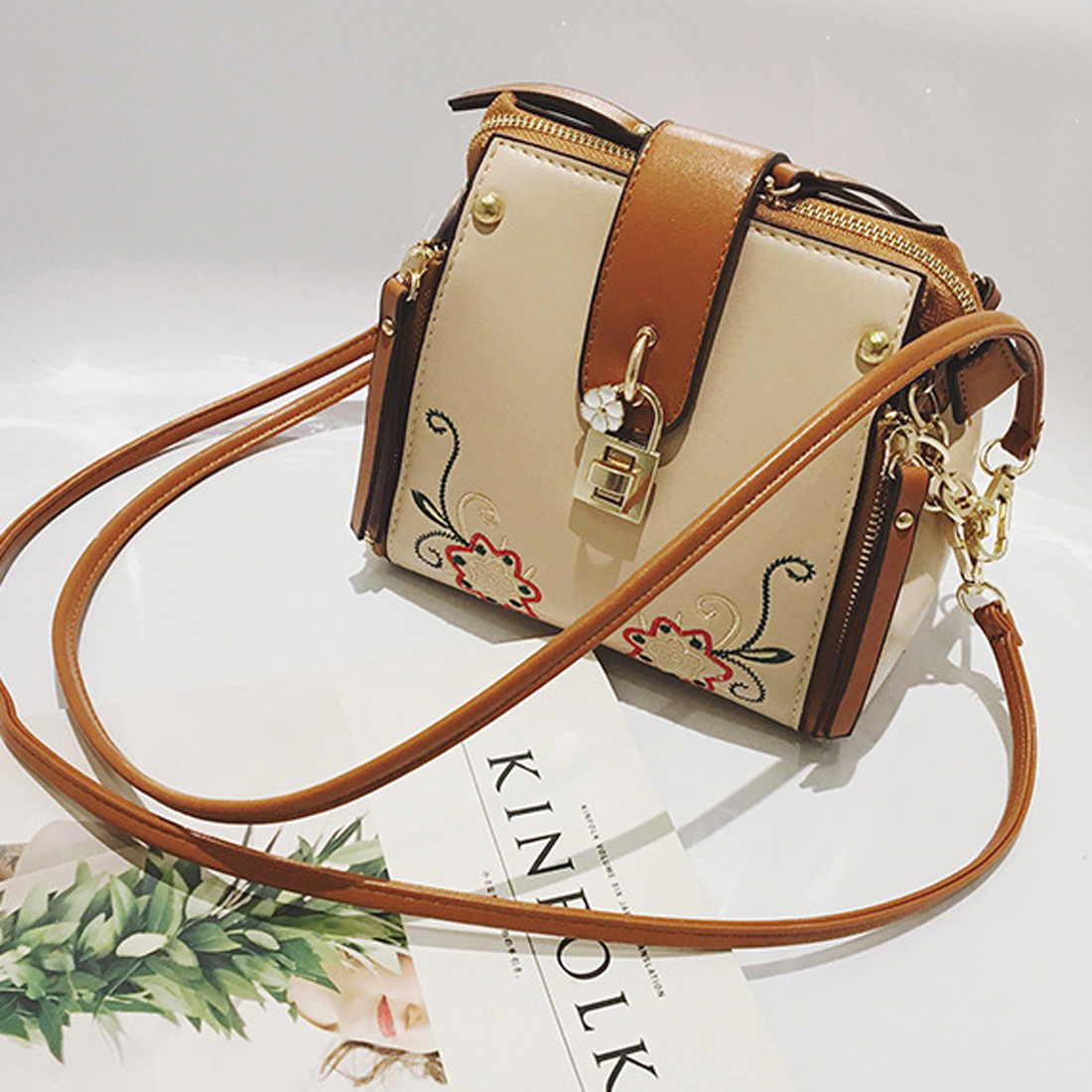 SFG HOUSE Casual PU Cross Body Bag Elegant Summer Women Bag Modern ... 9bc41c820beb9