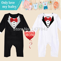 Black Friday2016 Brand Quality Cotton Winter Children Baby Boy Kid Sets Clothes Casual Romper Gentleman Climb Clothing Sets Suit