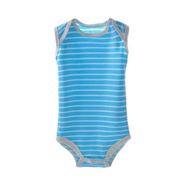 5pcs/set New 2017 Infant Baby Boy Girls 100% Cotton Cartoon Bodysuit Cute Newborn Baby One Pieces Body Clothes Jumpsuit Cheap Z1