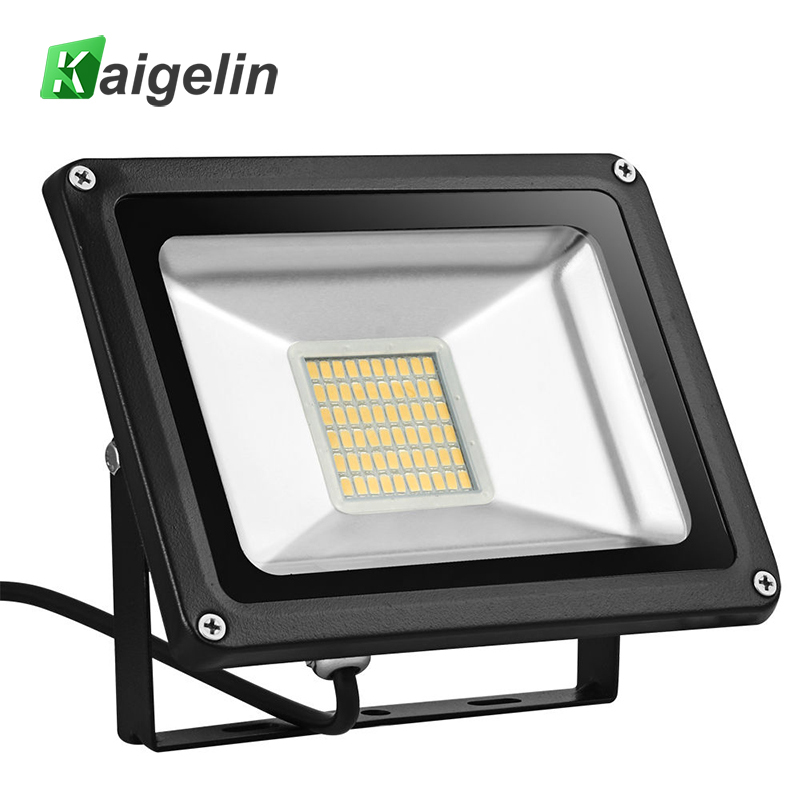 110V 30W LED Flood Light 3300LM IP65 Waterproof 60 LED Floodlight Reflector Spotlight For Garden Outdoor Lighting Ship From US