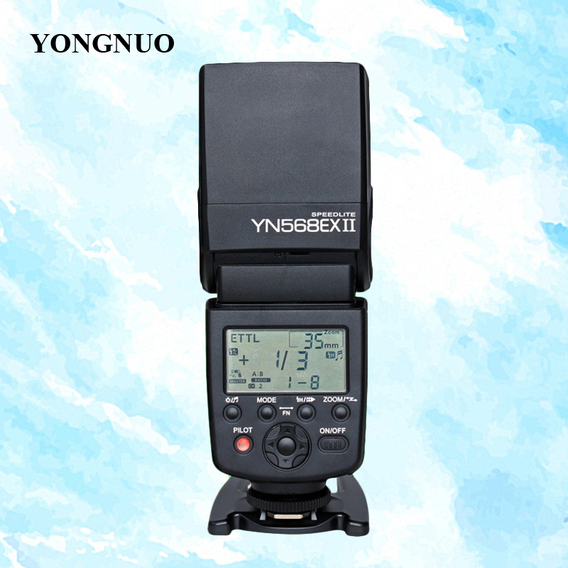 YONGNUO YN-568EX II, YN568EX II HSS 1/8000s E-TTL Flash Speedlite for Canon 5D Mark III 7D 60D 650D DSLR Camera baby rompers long sleeve baby boy clothing children jumpsuits autumn cotton infant clothing newborn baby girl clothes