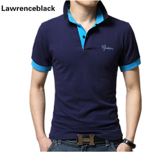 Solide polo shirts männer slim fitness casual atmungsaktive herren polo hemd Marken Baumwolle Camisa Polos Hombre Polos Homme 3XL 1535