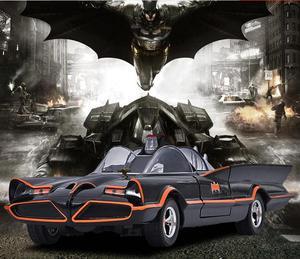 Image 3 - سيارة باتمان باتموبيل الكلاسيكية من جادا 1:24 ، تلفزيون لينكولن فوتورا مع لعبة روبن