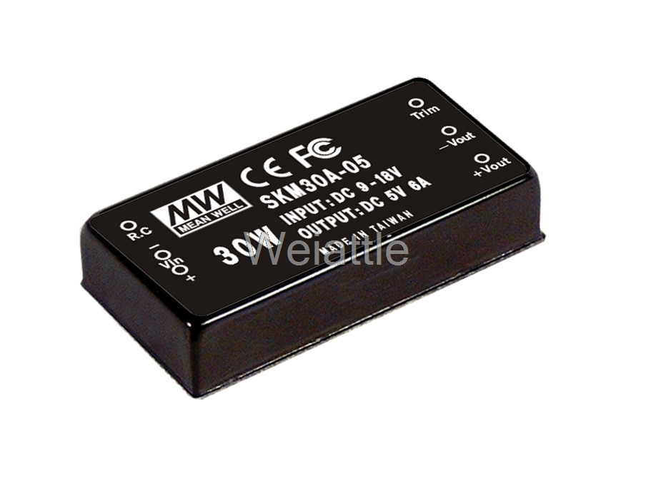цена на [Cheneng]MEAN WELL original SKM30C-05 5V 6A meanwell SKM30 5V 30W DC-DC Regulated Single Output Converter