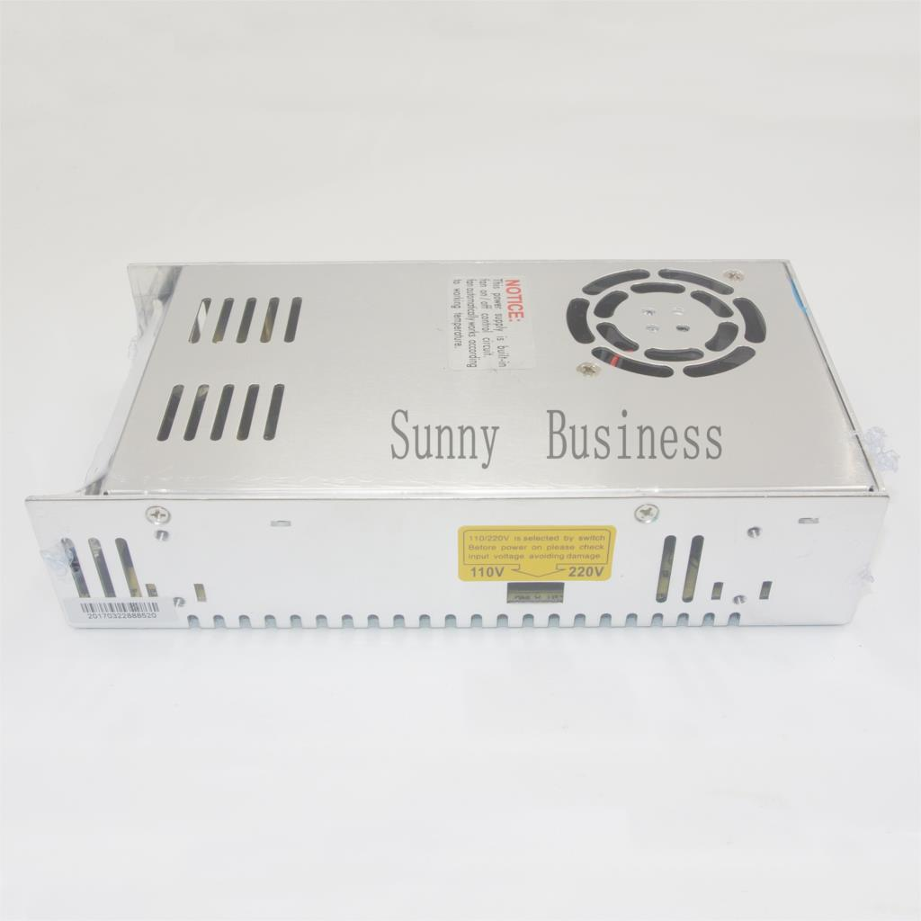 S-400-48 Best quality 48V 8.3A 400W Switching Power Supply Driver for LED Strip AC 100-240V Input to DC 48V free shipping best quality 36v 3 3a 120w switching power supply driver for led strip ac 100 240v input to dc 36v free shipping