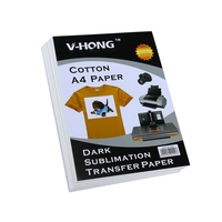 Hot stamping printing paper for high temperature A4 size inkjet printer