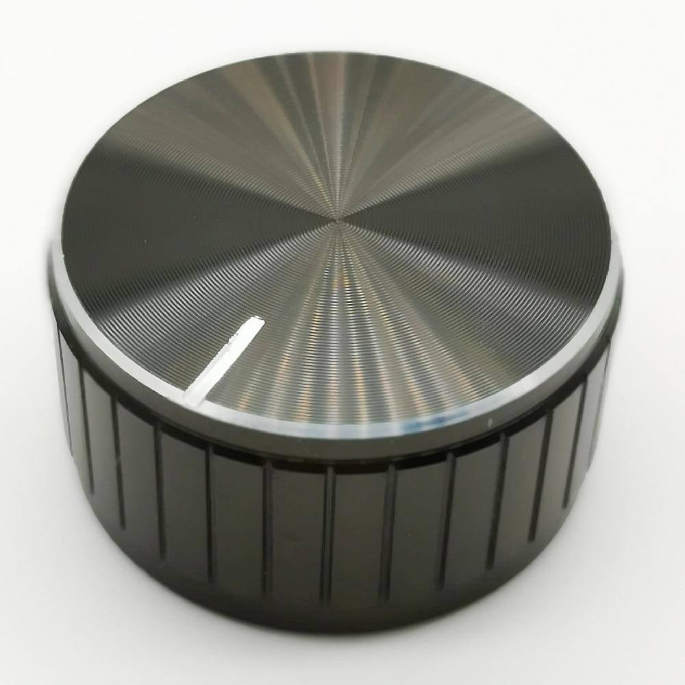 Aluminum Alloy Potentiometer Knob Anti Slip Single  Knobs  32x17mm