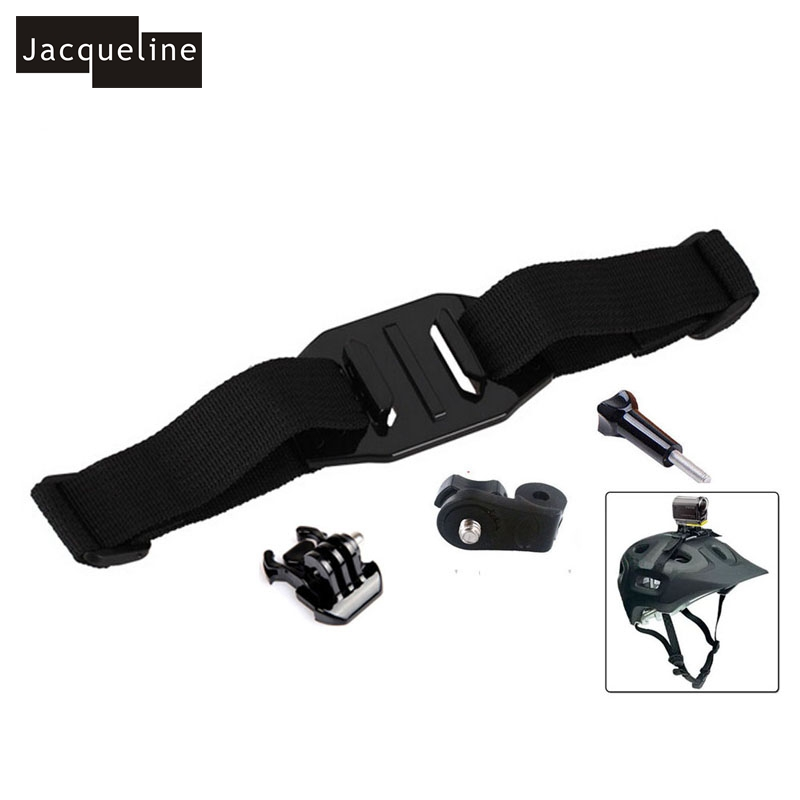 Jacqueline For Xiao Mi Xiaoyi Helmet Strap Mount for Sony Action Cam HDR-AS15 AS20 AS30V AS100V AS200V FDR-X1000V/W 4K