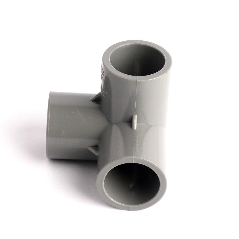 10 Unidades Conectores de 25mm PVC de 3 v/ías para Invierno Resistentes