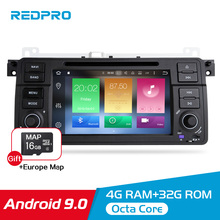 4G RAM+32G ROM 7 Android 9.0 Car Video DVD Player For BMW E46/M3 Series Radio Auto Player Stereo WIFI GPS Navigation Multimedia 8 core android 9 0 car dvd player gps multimedia stereo for for peugeot 308s auto radio audio navi video headunit 4g ram 32g rom