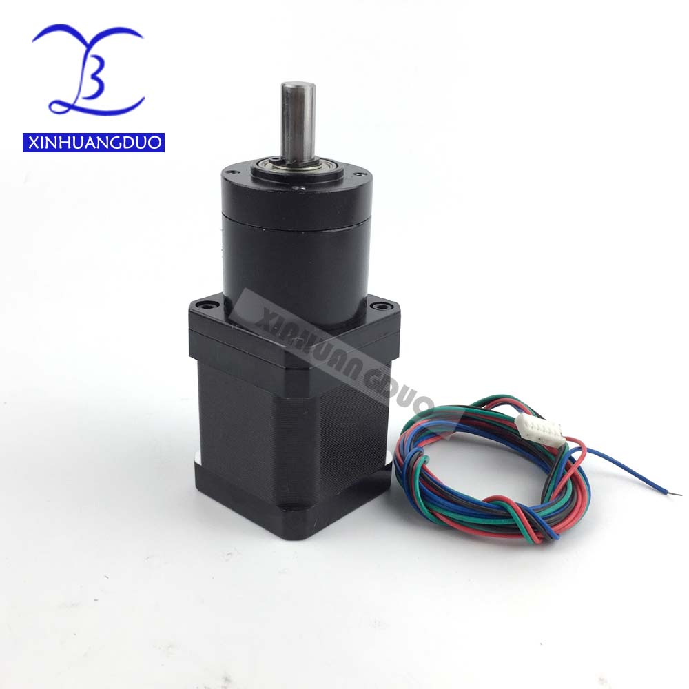 Gear ratio 19:1 Planetary Gearbox stepper motor Nema 17 1.68A Geared Stepper Motor 3d printer stepper motorGear ratio 19:1 Planetary Gearbox stepper motor Nema 17 1.68A Geared Stepper Motor 3d printer stepper motor