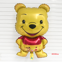 2 pcs/lot Free Shipping new Bear birthday party balloon cartoon toy wholesale decoration