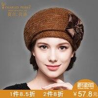 Women Wool Hats New Autumn Winter Woolen Knitted Caps Warm Protect Ear Casual Femal Skullies Beanies