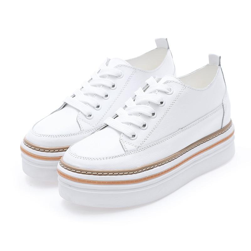 De Simples Chaussures Femmes En Chaussure Blanche White Petite Printemps Cuir Tête Inside Nouvelles plush plush black Inside xCqFw0Sw
