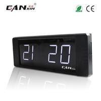 [Ganxin]1 White 4 digit child alarm clock livingroom clock