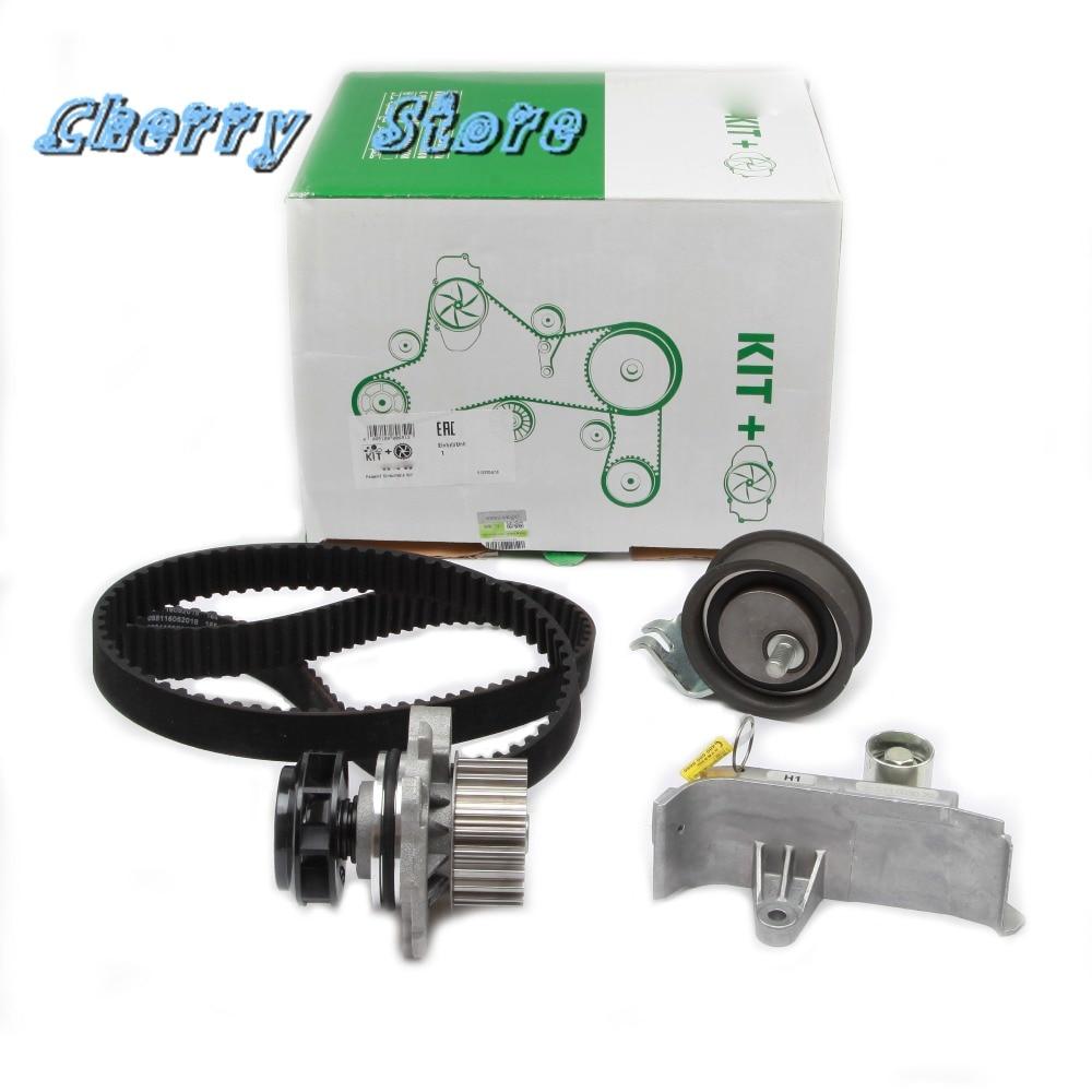 new 06b 109 243 f engine water pump timing belt tensioner kit for audi a4 a6 tt vw golf bora skoda seat 1 8t 06b109477 06a121012 [ 1000 x 1000 Pixel ]