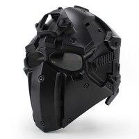 Мотор полный шлем защитный обсидиан шлем для мотоцикла Тактическая Военная Подготовка полимера конструкционных материалов