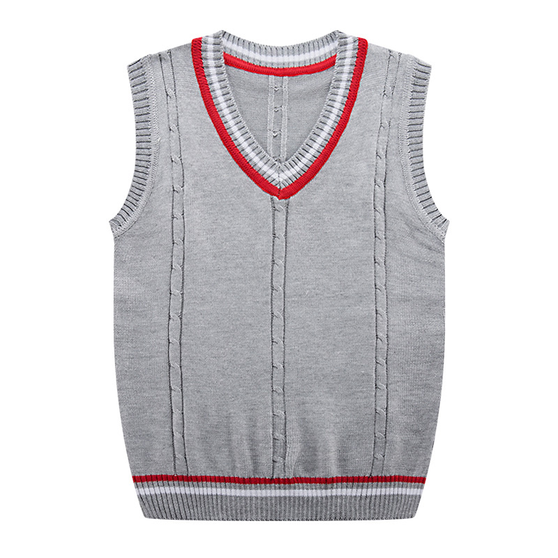 2019 New Fashion Brand Cotton Solid V Neck Sweaters Men Casual Male Sweater Pullover Knitted Slim Vest Mens Sleeveless Tops 3XL