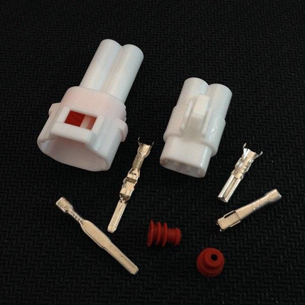 Yazaki 10 Sets Kit 2 Pin Way Waterproof Electrical Wire