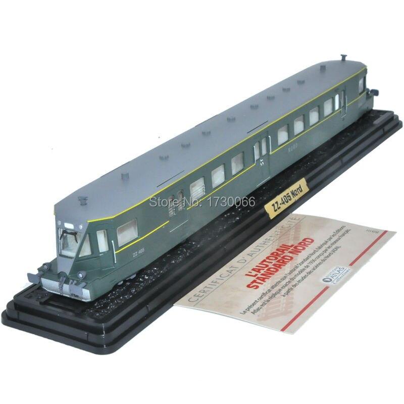 Editions ATLAS Toys 1 87 Scale L autorail Standard ZZ 405 NORD 1936 Train Model For