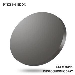 Image 2 - 1.56 1.61 1.67 ブルーレイ防止光変色cr 39树脂非球面レンズ、近視サングラスレンズ