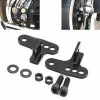 Motorcycle Rear Adjustable Slam LOWERING KIT Blocks 1 3 Inches 1 2 3 For Harley SPORTSTER