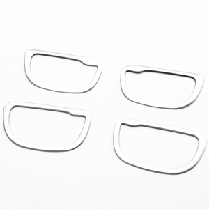Image 3 - JY 4pcs SUS304 Stainless Steel Interior Inner Handle Trims Car Styling Cover for Toyota Vitz Yaris Hatchback 2017 Facelift