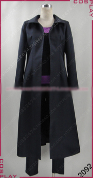 K RETURN OF KINGS Yukari Mishakuji Cosplay Costume Halloween Uniform Outfit Top+Pants+Coat+Gloves Custom-made