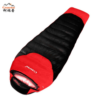 CREEPER Outdoor Professional Mummy Sleeping Bag Hiking Warm Lightweight Compact 3 4 Season For Adult Thicker