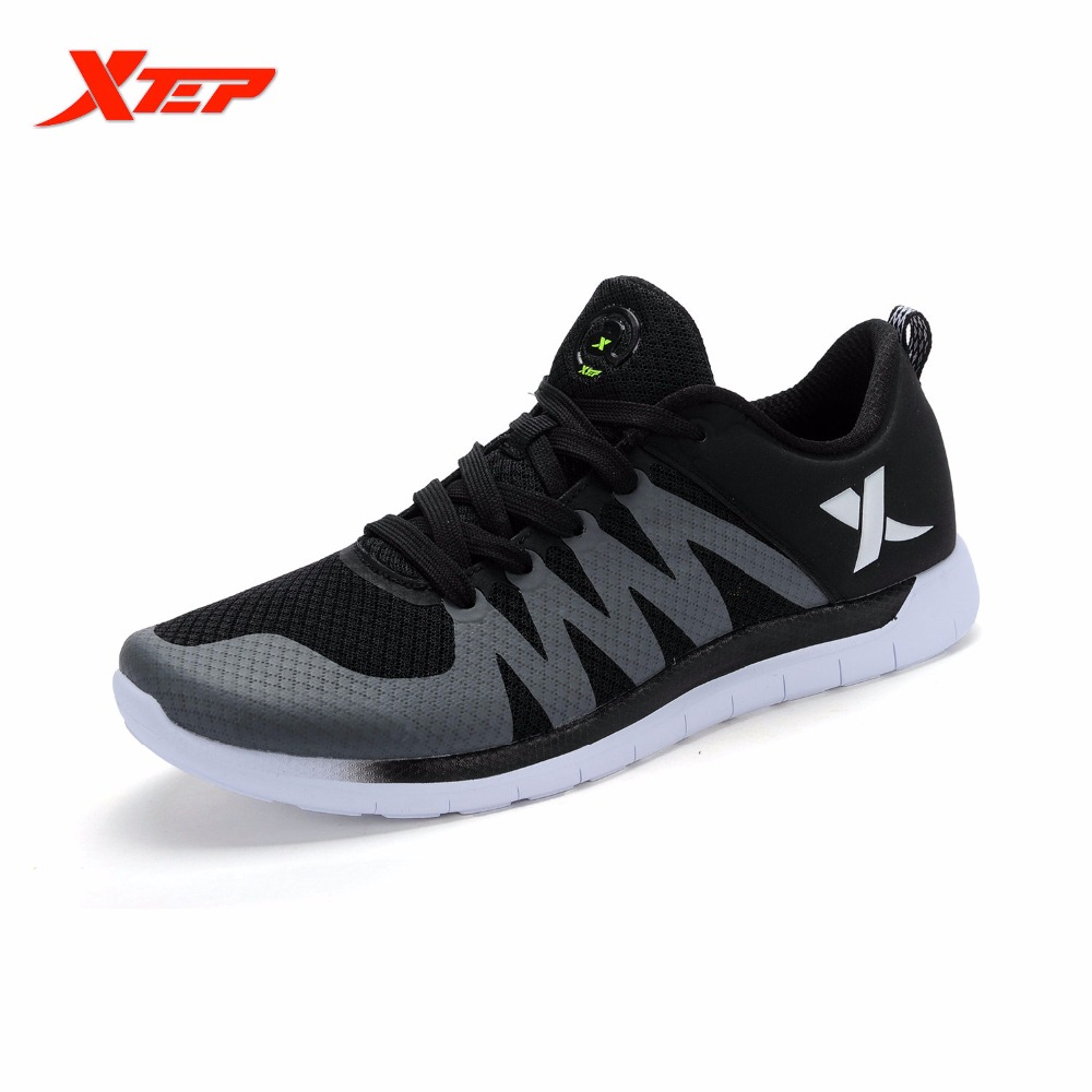 ФОТО XTEP Breathable Running Shoes for Men Light Weight Air Mesh Men Trainers Shoes Athletic Shoes Men's Sport Sneakers 984219119177