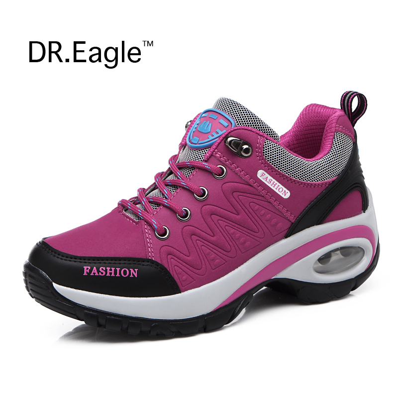 Prix pour En plein air Montagne escalade chaussures pour femmes étanche trekking chaussures femme Sneakers randonnée bottes