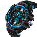 2016 brand new fashion men watch  waterproof watches men Military Sport luxury analog quartz watch digital #DJ0559