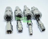 8pcs 1 4 Pneumatic Air Compressor Hose Quick Coupler Plug Socket Connector Set