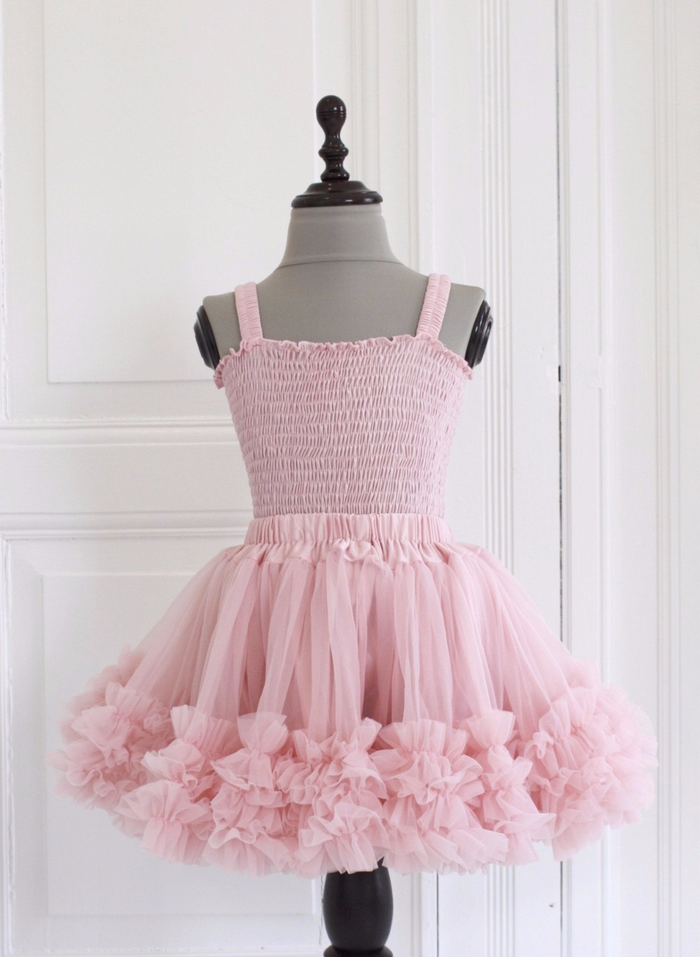 Fashion kids girls Tutu Skirts Chiffon ruffled pettiskirt Baby