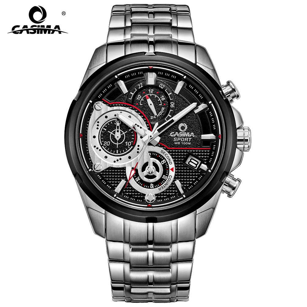 CASIMA watches men sport men's watch .multi-function calendar - Men's Watches
