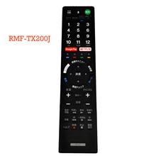Бывший в употреблении оригинальный пульт дистанционного управления для SONY TV, пульт дистанционного управления для японского, японского, для RMF TX200J, для,