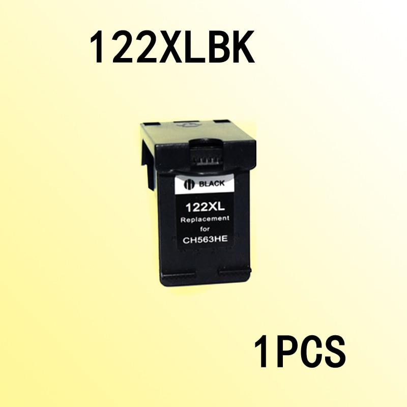 1 шт. совместимый Черный чернильный картридж для 122 122XL Deskjet 1000 1050 2000 2050