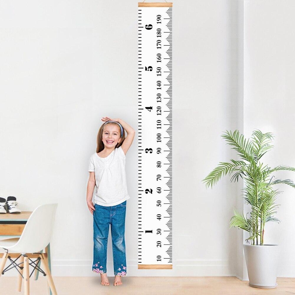 Kinder Kinder Wachstum Chart Höhe Herrscher Wand Aufkleber Herrscher Wachstum Chart Wand Aufkleber Höhe Messung Aufkleber Dekorative Geschenk