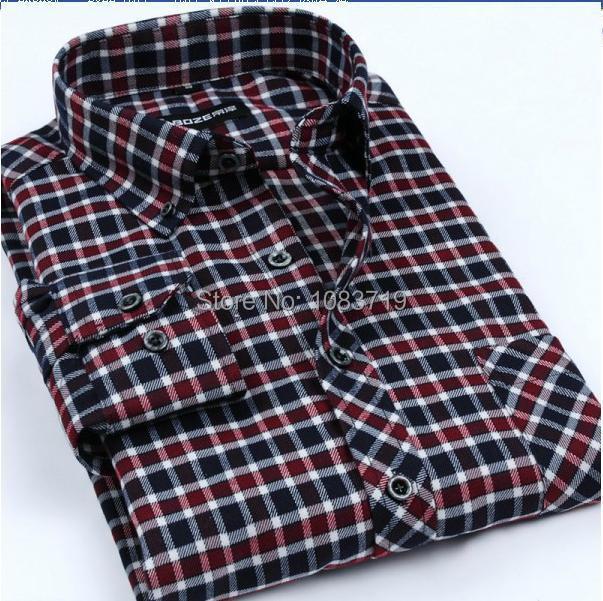 20 colores con estilo hombre a cuadros rojo y negro camisetas de manga larga hombres alta segunda mano  Se entrega en toda España