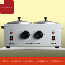 2PC Double water-resisting heated chocolate heatting machine chocolate melt pot maker
