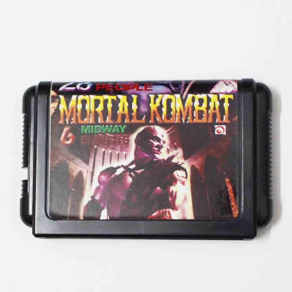Mortal Kombat 6 Midway 28 People 16 bit MD Game Card For Sega Mega Drive For Genesis