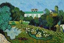 Daubigny's Garden by Vincent Van Gogh Handpainted