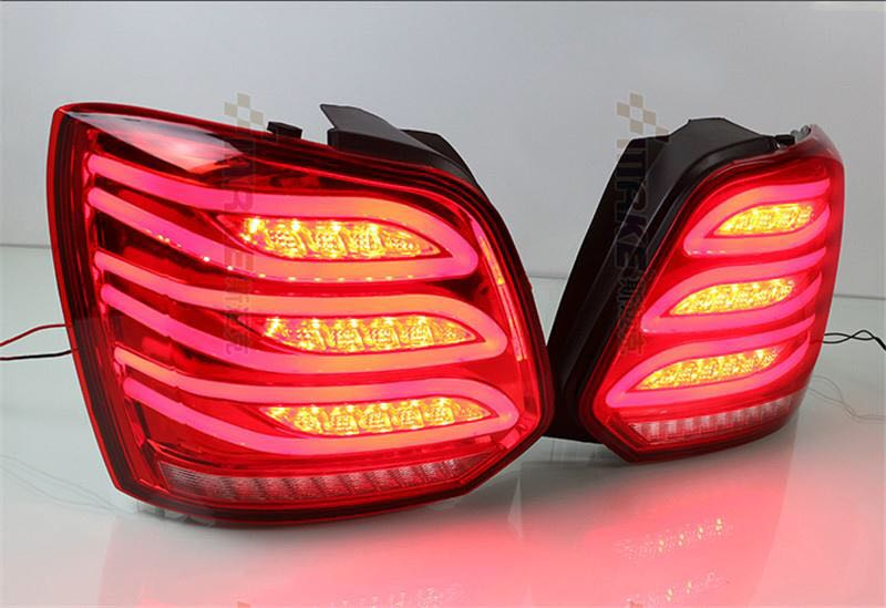 Free shipping for VLAND car taillight for Volkswagen Polo tail lamp for 2013 2014 2015 Benz style led rear light motorcycle tail tidy fender eliminator registration license plate holder bracket led light for ducati panigale 899 free shipping